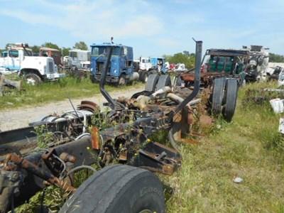 Mack Salvage Yard C H Truck Parts