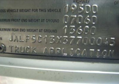 Isuzu | Salvage Yard | C&H Truck Parts