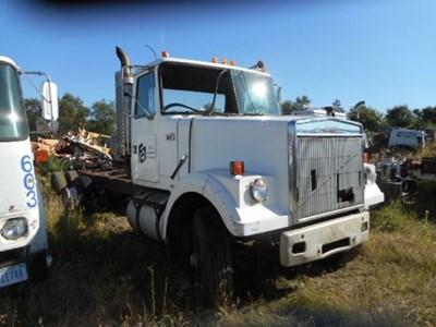 White Salvage Yard C H Truck Parts
